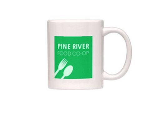 Imprinted Coffee Mug – Pine River Food Co-op