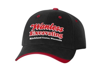 Custom Embroidered Hats – Wanless Excavating