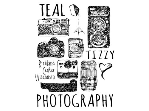 Graphic Design – Teal Tizzy Photography