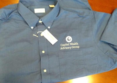 Custom Embroidery – CWAG Button Up Shirts