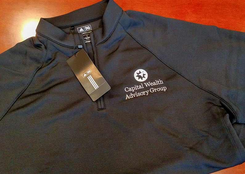 Custom Embroidery- CWAG Adidas Golf Shirt