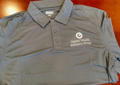 Custom Embroidery – CWAG Performance Polos
