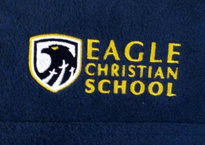 Custom Embroidery – Eagle Christian School Fleece