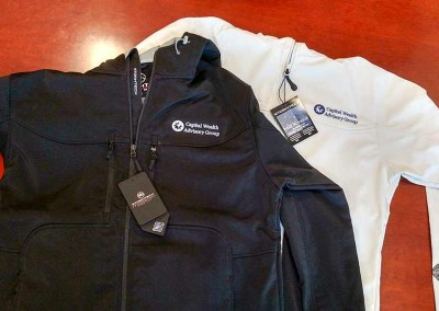 Custom Embroidery – CWAG Stormtech Jackets