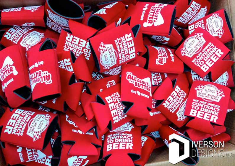 Custom Koozies – Beer Money Pulling Team