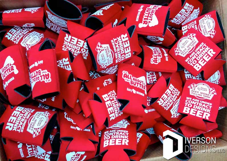 Promotional Products – Screen Printed Alcam Koozies