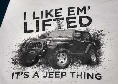 Custom Screen Printed Shirts – It's a Jeep Thing