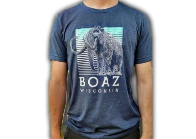 Custom Shirts – Boaz Wisconsin Mastodon Shirt