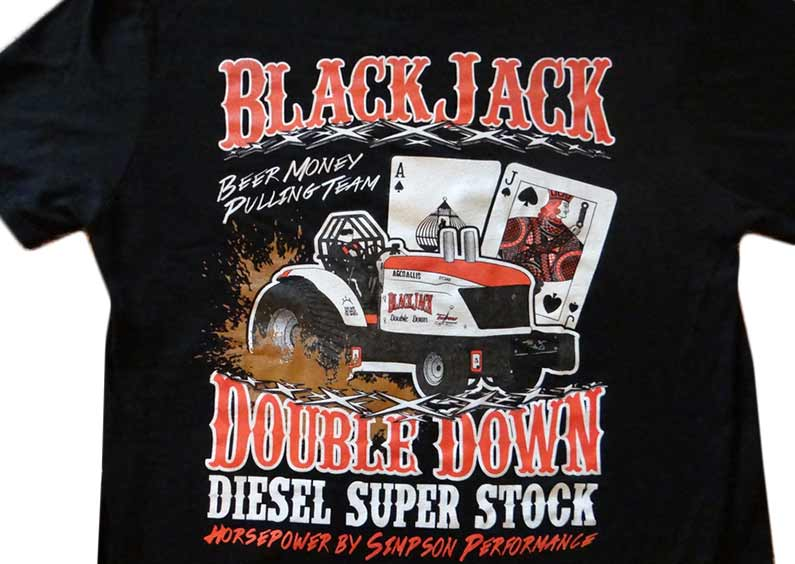 Custom Shirts – Blackjack Double Down