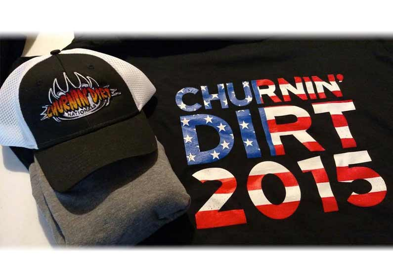 Custom Hats and Shirts – Churnin Dirt 2015