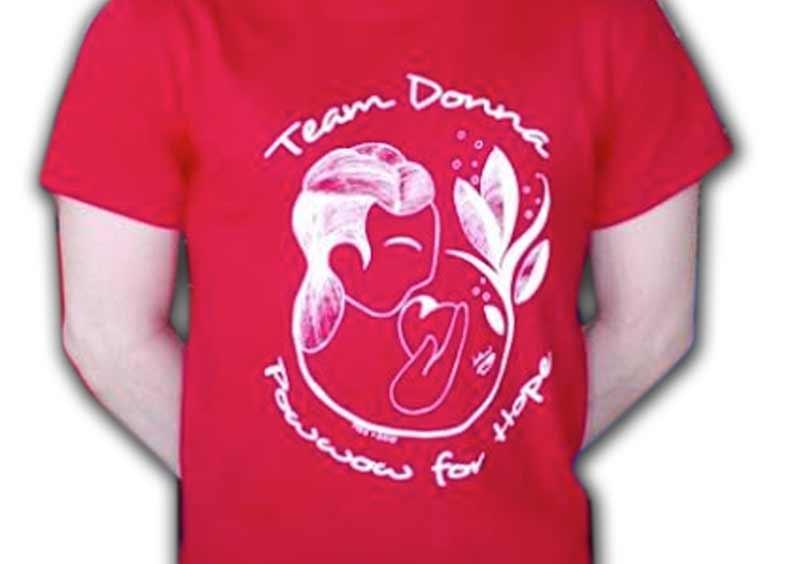 Custom Shirts – Team Donna