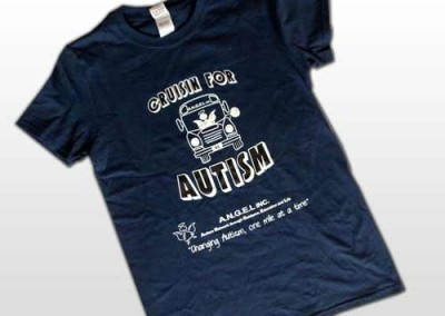 Screen Printing – Cruisin for Autism Shirt