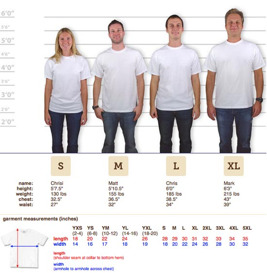 Jerzees-sizing-guide