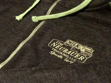 Tim Neubauer Trucking – J. America Hoodie – Embroidery