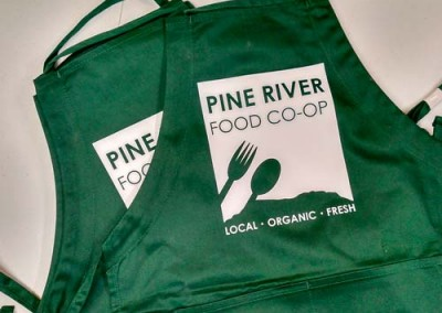 Custom Vinyl Aprons – Pine River Food Coop
