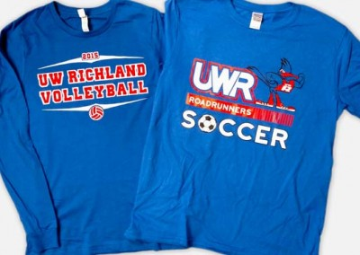 Screen Printing – UW-Richland Sports Shirts