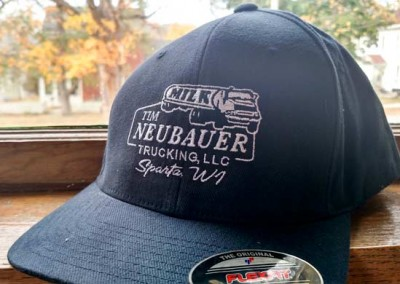 Tim Neubauer Trucking – Flexfit Hat Embroidery