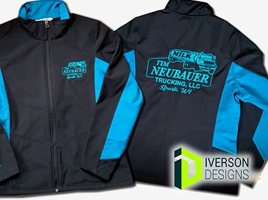 Work Jacket Embroidery – Tim Neubauer Trucking