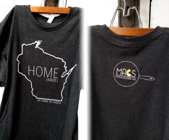 MACS custom tshirts
