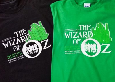 Oz Custom Screen Printed Shirts