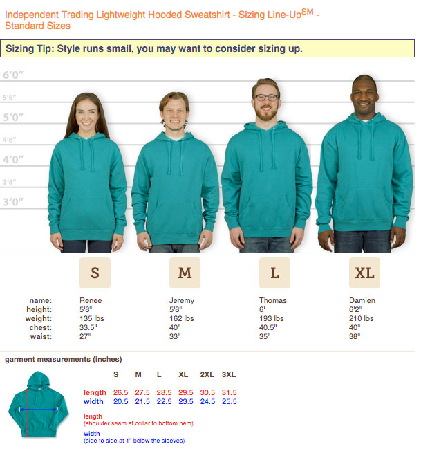 independent-hoodie-sizingguide