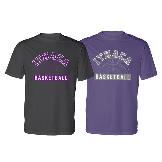 Ithaca b ball badger b core performance short sleeve for Ithaca t shirt printing