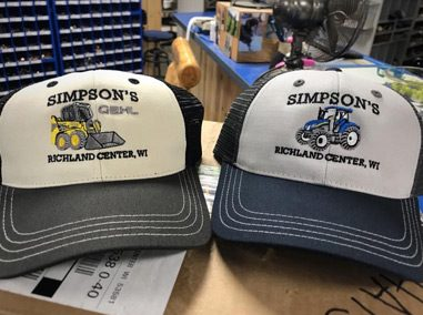 Business Hat Custom Embroidery