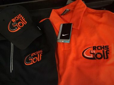 Custom Golf Polo Shirt Embroidery