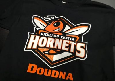 Richland-center-hornets-custom-shirts-doudna